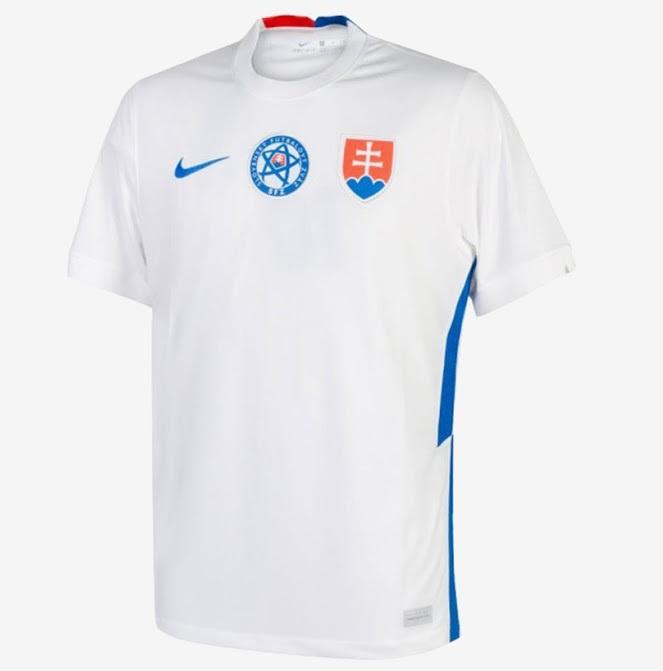 Slovaquie Euro 2020 maillot de foot exterieur blanc