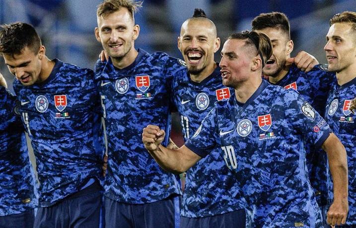 Slovaquie Euro 2020 maillot domicile