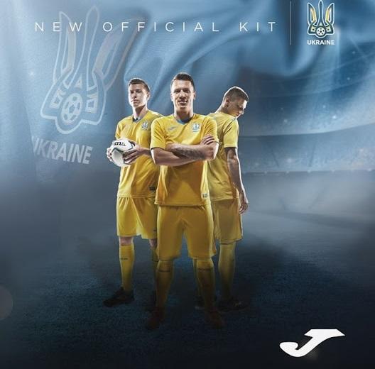 Ukraine Euro 2020 maillot de football domicile