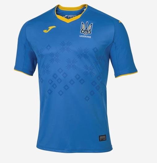 Ukraine Euro 2020 maillot de football exterieur Joma