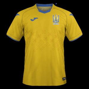 Ukraine Euro 2020 maillot domicile