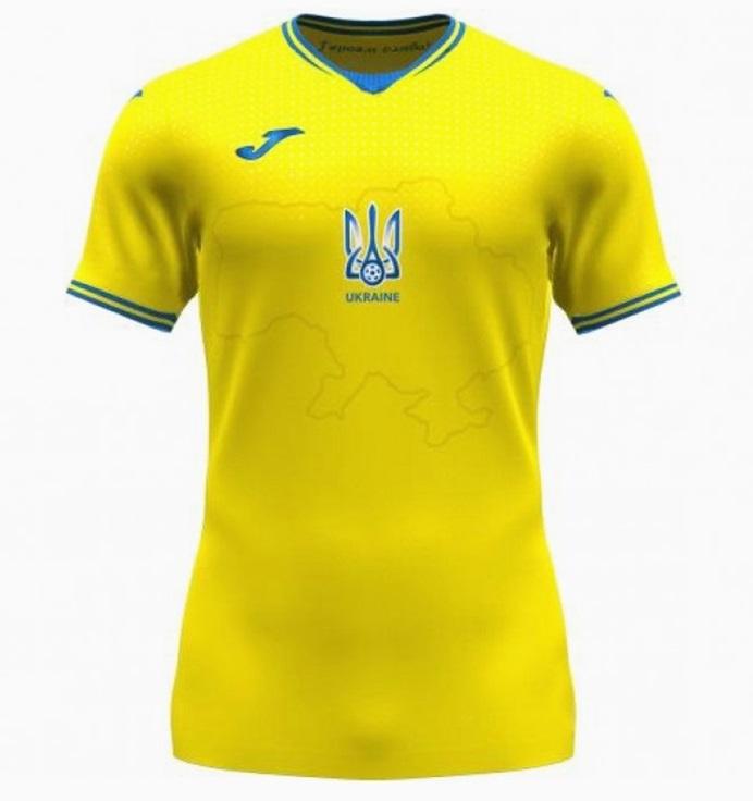 Ukraine Euro 2020 maillot domicile foot officiel
