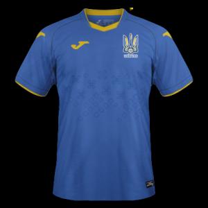 Ukraine Euro 2020 maillot exterieur