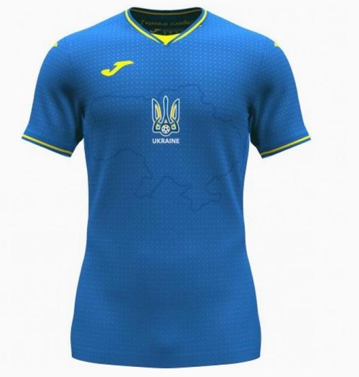 Ukraine Euro 2020 maillot exterieur foot officiel
