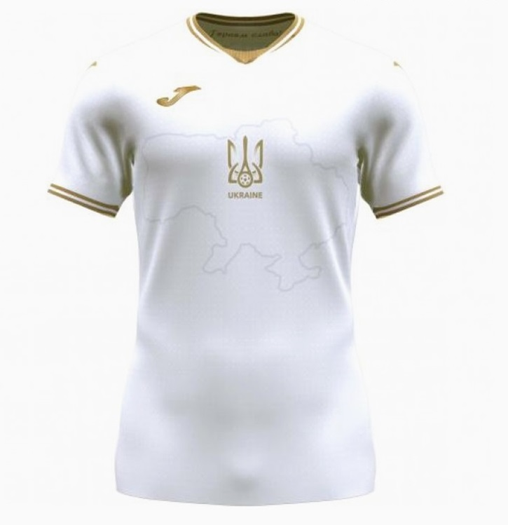 Ukraine Euro 2020 maillot third foot officiel