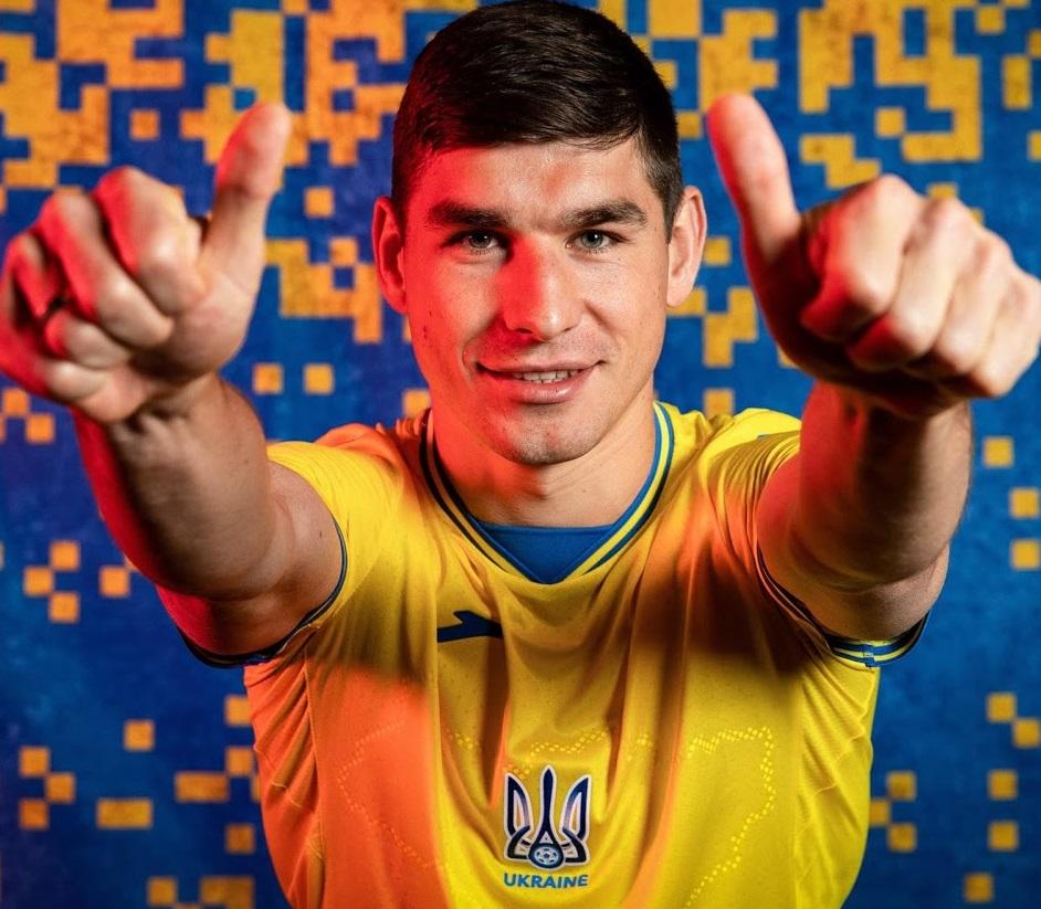 Ukraine Euro 2021 maillot de foot domicile Joma