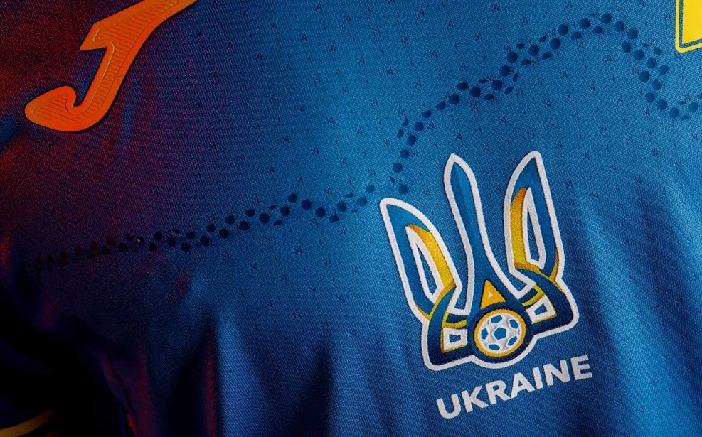 Ukraine Euro 2021 nouveau maillot de foot exterieur