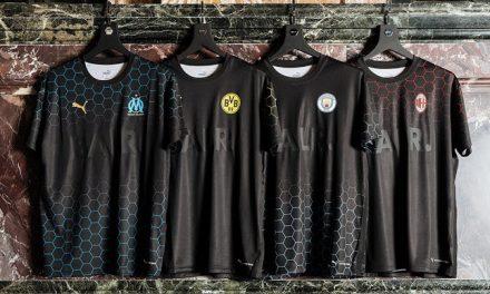 Les maillots BALR 20-21 pour l'OM, Dortmund, Manchester City et Milan AC