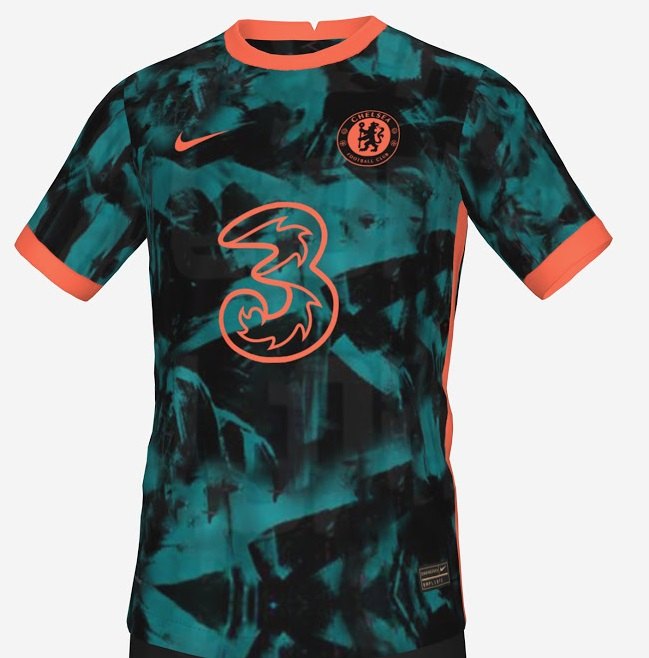 Chelsea 2022 possible maillot third