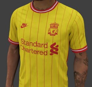 Liverpool 2022 possible troisieme maillot de foot third