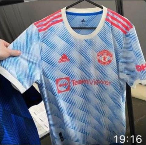 Manchester United 2022 maillot de foot exterieur