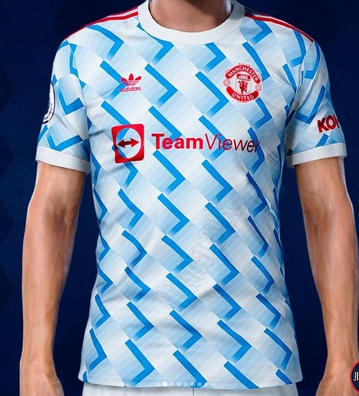 Manchester United 2022 maillot exterieur foot