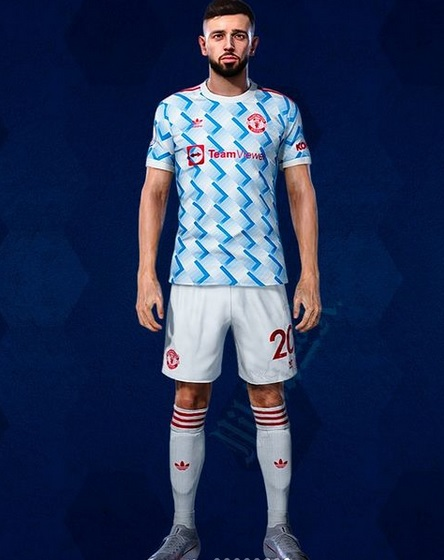 Manchester United 2022 maillot exterieur football Adidas