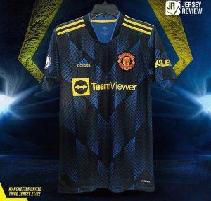 Manchester United 2022 troisieme maillot third 21-22