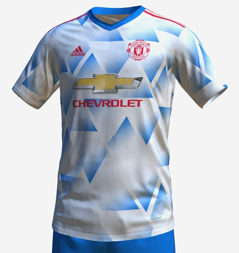 Manchester United maillot de foot exterieur 2022 prediction