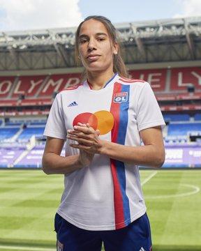 Olympique Lyonnais 2022 maillot domicile foot feminin