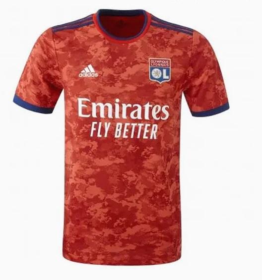 Olympique Lyonnais 2022 maillot exterieur Adidas officiel
