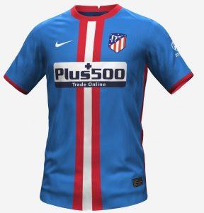 Atletico Madrid 2022 3eme maillot prediction
