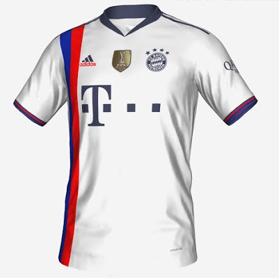 Bayern Munich 3eme maillot third foot prediction