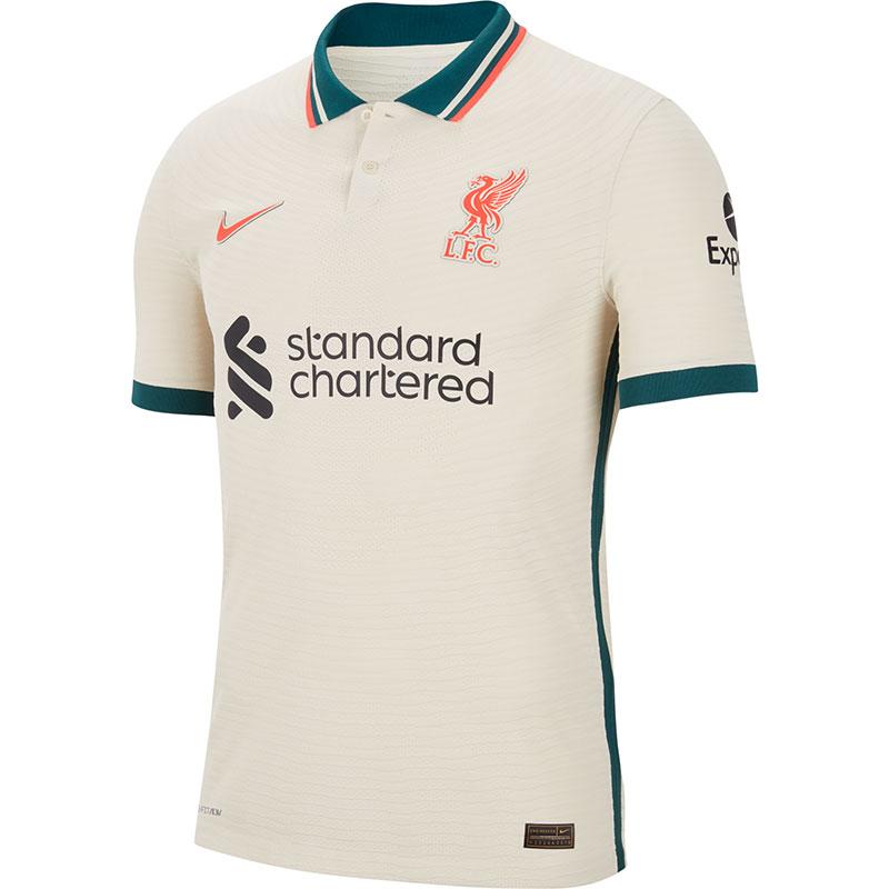 Liverpool 2021 2022 maillot de foot exterieur officiel
