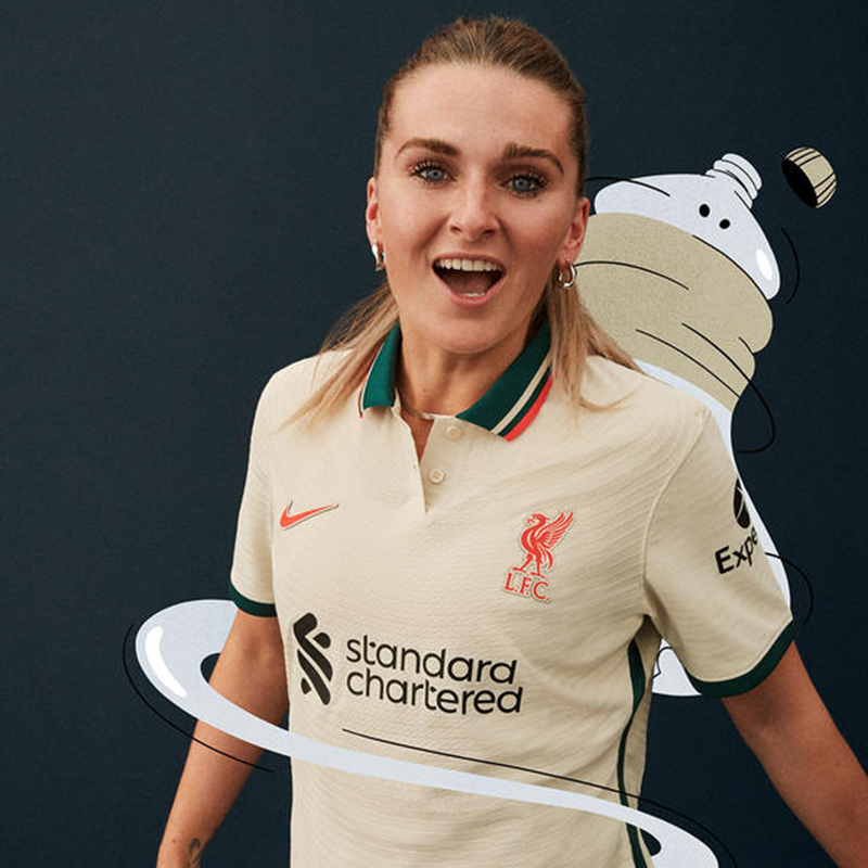 Liverpool 2021 2022 maillot de foot exterieur