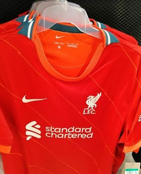 Liverpool 2021 2022 maillot domicile foot Nike