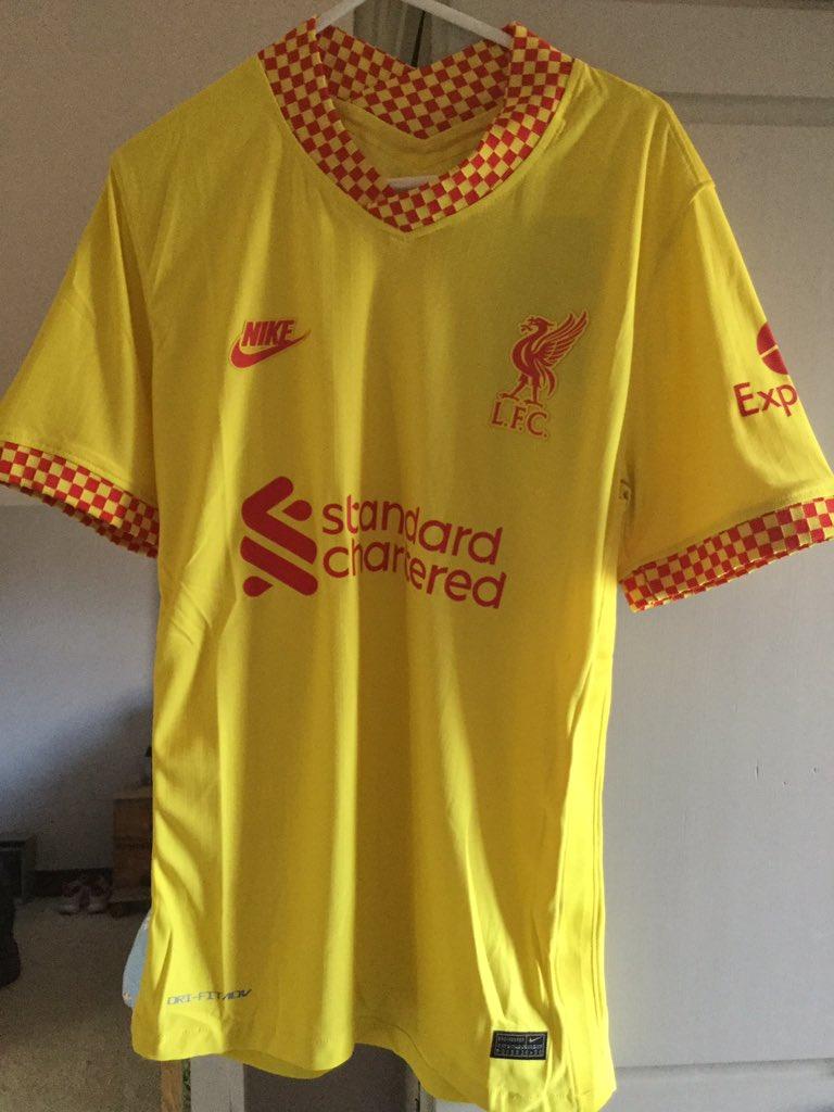 Liverpool 2022 maillot de foot third