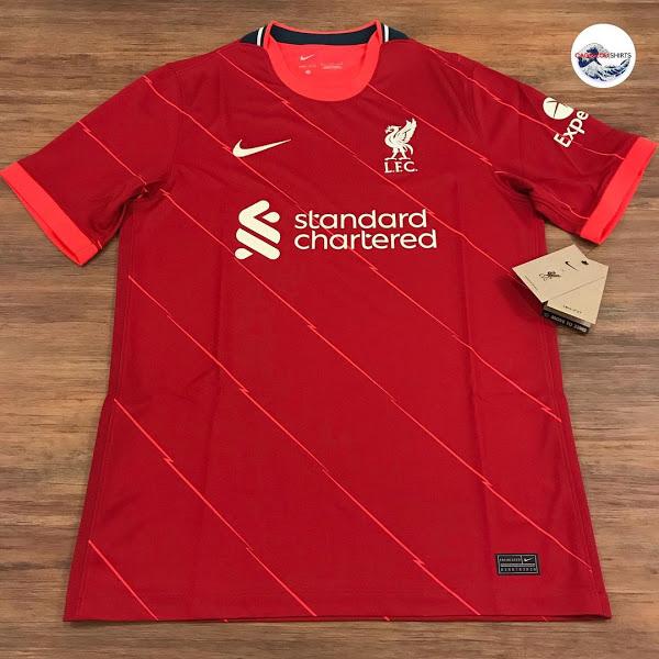 Liverpool 2022 maillot domicile football Nike
