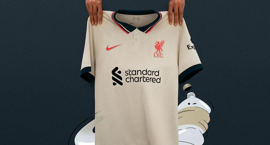 Liverpool 2022 maillot exterieur