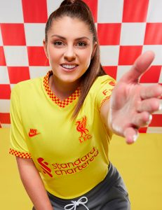 Liverpool 2022 nouveau 3eme maillot third Nike