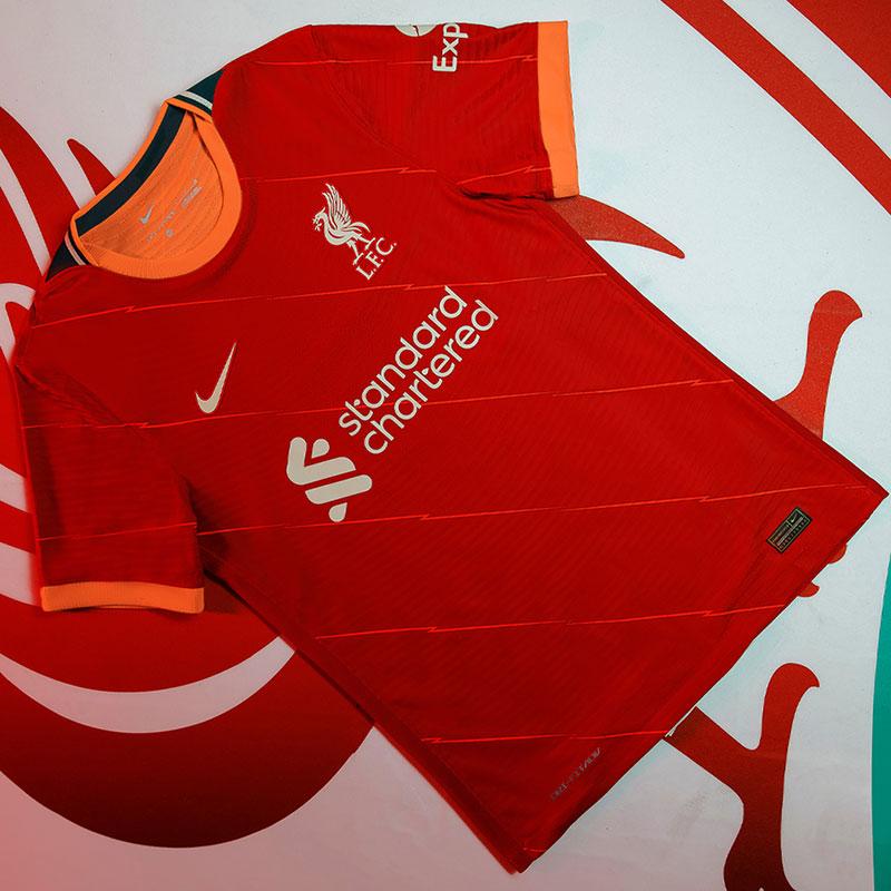 Liverpool 2022 nouveau maillot domicile officiel Nike