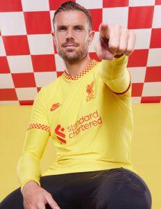 Liverpool 2022 nouveau maillot third football