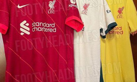 Liverpool 2022 les nouveaux maillots de foot pour la saison 21/22