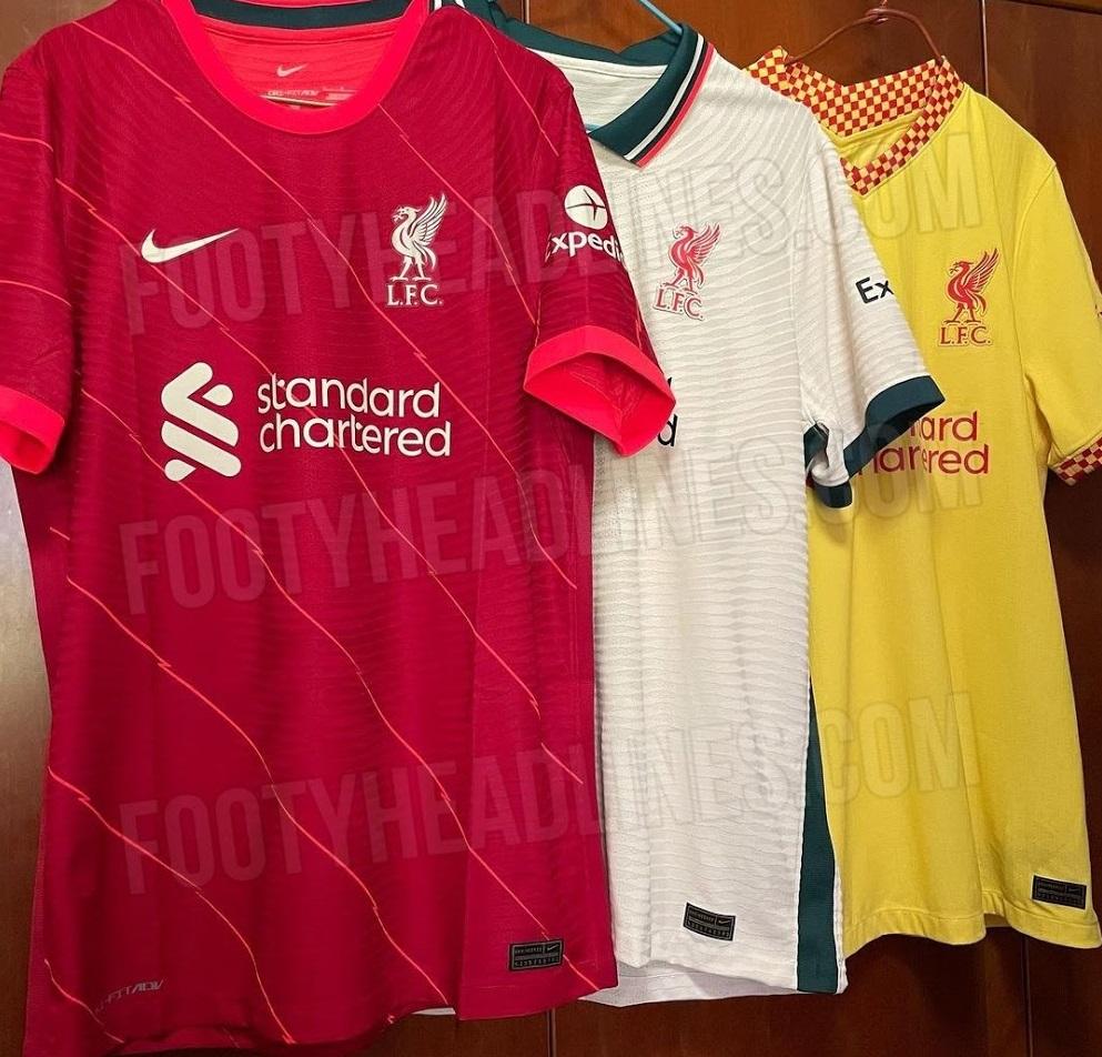 Liverpool 2022 nouveaux maillots de foot