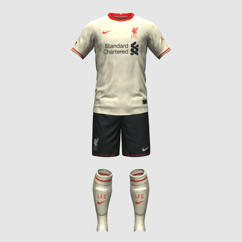 Liverpool 2022 prediction maillot exterieur football