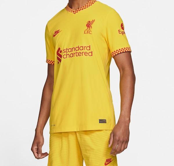 Liverpool 2022 troisieme maillot third 1