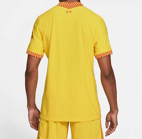 Liverpool 2022 troisieme maillot third football dos