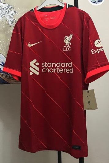 Liverpool 21-22 maillot football domicile