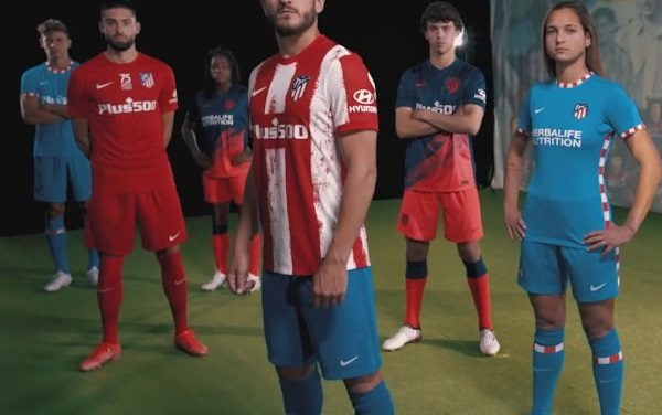 Atletico Madrid 2022 les nouveaux maillots Nike