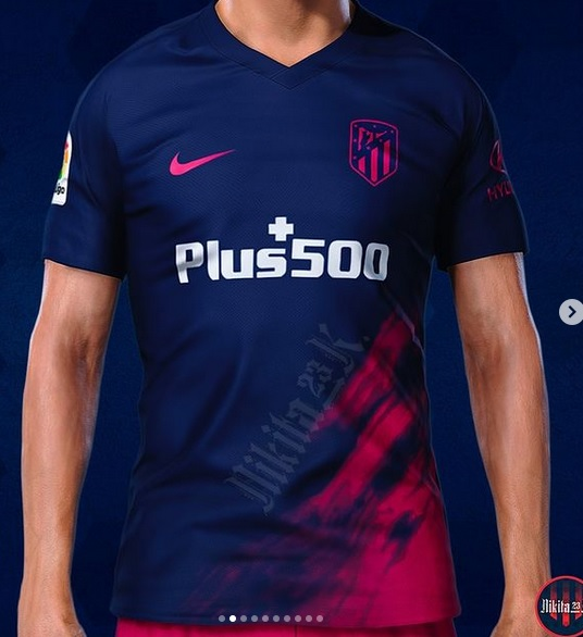 Atletico Madrid 2022 maillot exterieur foot prediction