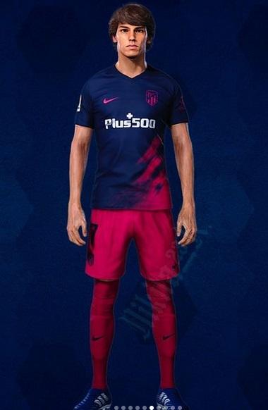 Atletico Madrid 2022 maillot exterieur footbzll prediction
