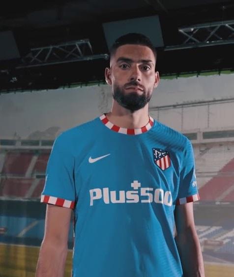 Atletico Madrid 2022 nouveau 3eme maillot de foot third