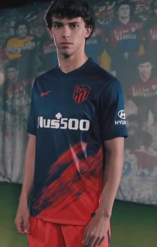 Atletico Madrid 2022 nouveau maillot exterieur Nike