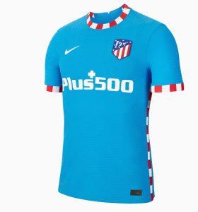 Atletico Madrid 2022 nouveau troisieme maillot Nike
