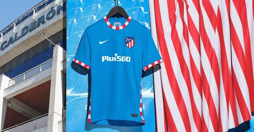 Atletico Madrid 2022 nouveau troisieme maillot officiel