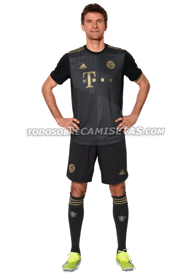 Bayern 2022 nouveau maillot de foot exterieur