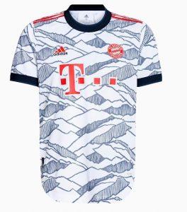 Bayern Munich 2022 troisieme maillot de football third Adidas
