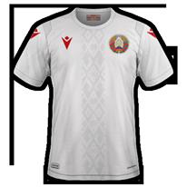 Bielorussie 2020 maillot exterieur domicile