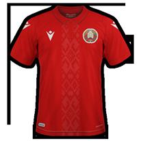 Bielorussie 2020 maillot exterieur football