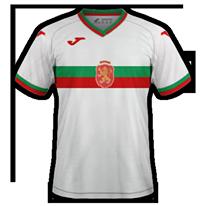 Bulgaria 2020 maillot domicile foot